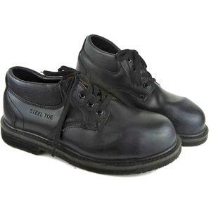 BRAHMA Steel Toe Men's Work Boots
